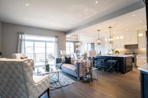 Formal Open Concept Living Space