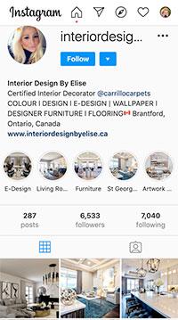 Interior Designs By Elise Instagram
